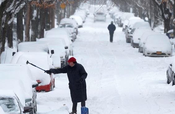 ¿Por qué en Estados Unidos cae nieve?
